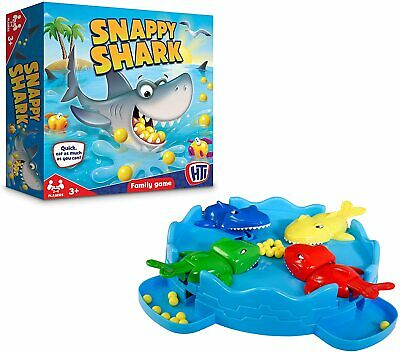 Snappy Shark Board Game Fun Kids Play Traditional Children & Family Game