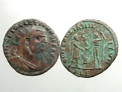 DIOCLETIAN BRONZE AE ANTONINIANUS_______Ancient Rome_______ABDICATED THE THRONE