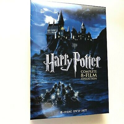 Harry Potter -- Complete 8-Film Collection (8-Disc DVD Set, 2011) Region 1