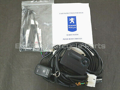 Genuine Peugeot Motorcycle Scooter Datatool Alarm System Pe02000032  *New*