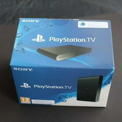 Sony PlayStation TV 1GB Black Console PS4 - NEW