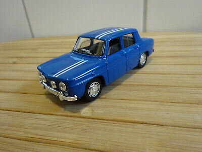 Renault R8 Gordini Rally Version BLEU  1/43 SOLIDO SCALE 1:43 MADE IN FRANCE OVP