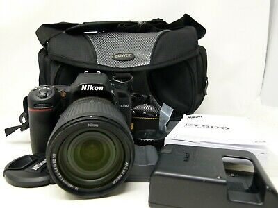 Nikon D7500 Digital SLR Camera with 18-140mm f/3.5-5.6G Lens in Mint Condition