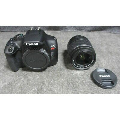 Canon EOS Rebel T6 DSLR Camera With EF-S 18-55mm IS II Lens Kit 18MP *