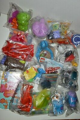 """McDonalds -""""HAPPY HOUR"""" - JOB LOT - HAPPY MEAL TOYS - All Original Sealed Bags"""