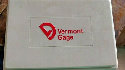 "Vermont Gage Pin Gage Set .0110"" to .0600"" Minus 50 Piece - Class ZZ Black Guard"