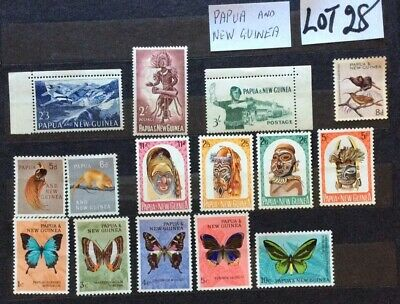 British Commonwealth Unmounted Mint From Papua And New Guinea (Lot 28)
