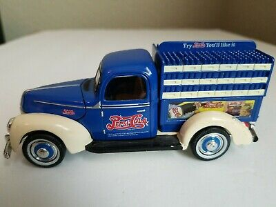 Pepsi:cola Delivery Truck 1940 Ford Die Cast Metal 1:15 Scale