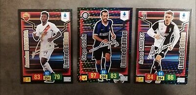 Panini Adrenalyn Xl 2019 2020 20 - Il Tris  Delle 3 Card Limited Edition Firmate