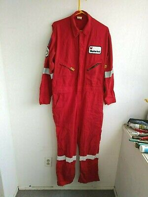 LAPCO red fire resistant coveralls Weatherford