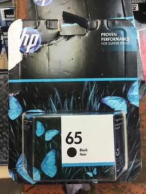 Genuine HP 65 Black Inkjet HP 2021
