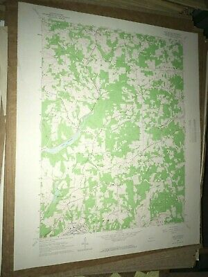 East Butler PA Bulter County USGS Topographical Geological Survey Quadrangle Map