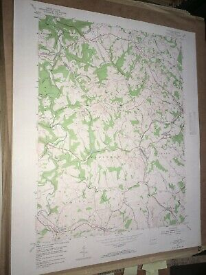 Clinton Pa. Allegheny Co USGS Topographical Geological Survey Quadrangle Map
