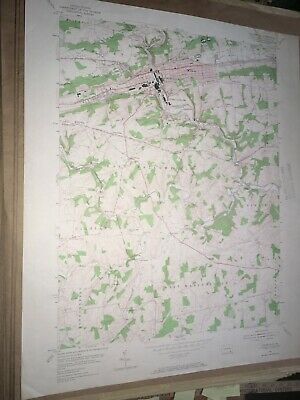 Coatesville Pa. Chester Co USGS Topographical Geological Survey Quadrangle Map