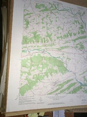 Freeburg PA Snyder County USGS Topographical Geological Quadrangle Topo Map