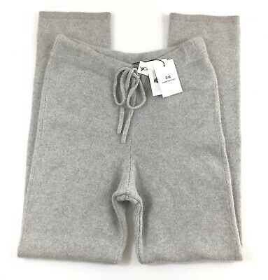 Something Navy NEW Gray Womens Size M Lounge Pants Cashmere Athleisure NWT $185