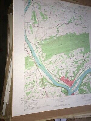 Northumberland PA County USGS Topographical Geological Quadrangle Topo Map