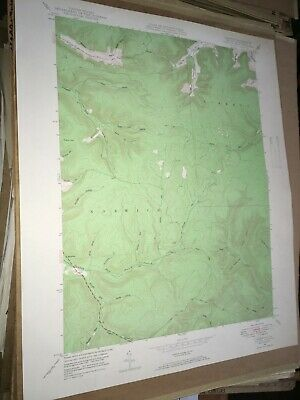 Norwich PA McKean County USGS Topographical Geological Quadrangle Topo Map