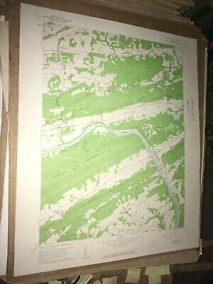 Millerstown PA Perry Co Old USGS Topographical Geological Survey Quadrangle Map
