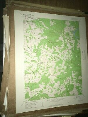 Luthersburg PA Clearfield Co.USGS Topographical Geological Survey Quadrangle Map