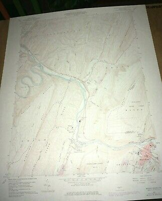Mount Union PA Huntingdon USGS Topographical Geological Quadrangle Topo Map