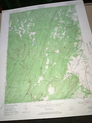 Iron Springs PA Adams County USGS Topographical Geological Quadrangle Topo Map