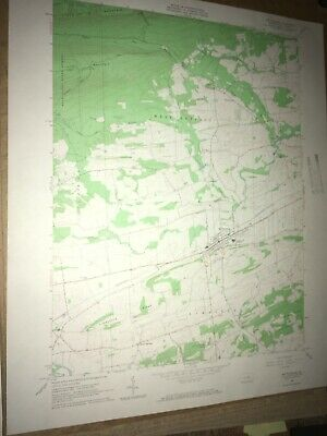 Mifflinburg PA Union County USGS Topographical Geological Survey Quadrangle Map