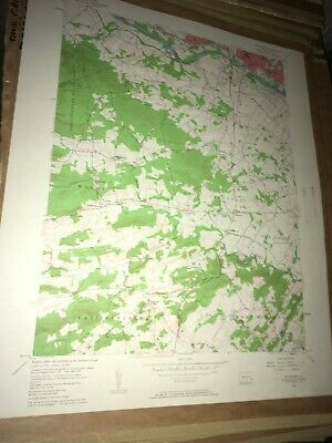 Pottstown PA Montgomery County USGS Topographical Geological Quadrangle Topo Map