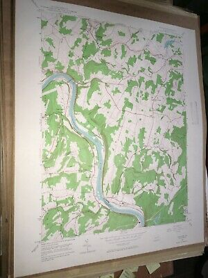 Ransom PA Lackawanna Co USGS Topographical Geological Survey Quadrangle Old Map