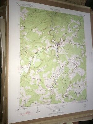 Ramey PA Clearfield Co USGS Topographical Geological Survey Quadrangle Old Map