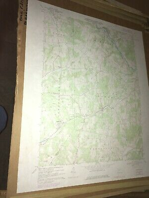 Plumville PA Indiana County USGS Topographical Geological Quadrangle Topo Map