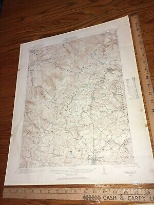 Somerset PA 1927 USGS Topographical Geological Quadrangle Topo Map