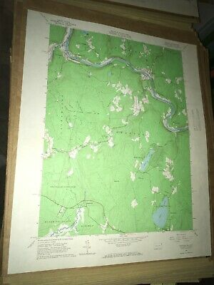 Shohola PA Pike County USGS Topographical Geological Survey Quadrangle Old Map