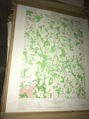 Sharpsville Pa.Mercer County USGS Topographical Geological Survey Quadrangle Map