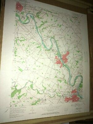 Phoenixville PA Chester County USGS Topographical Geological Quadrangle Topo Map