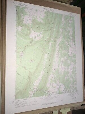 Saltillo PA Huntingdon County USGS Topographical Geological Quadrangle Topo Map