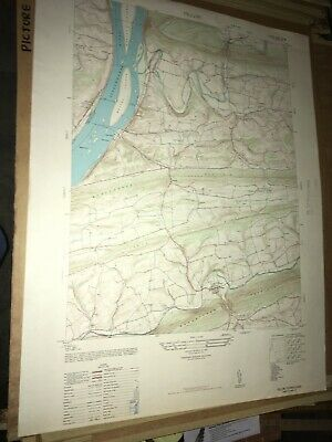 Pillow PA Dauphin County USGS Topographical Geological Quadrangle Topo Map
