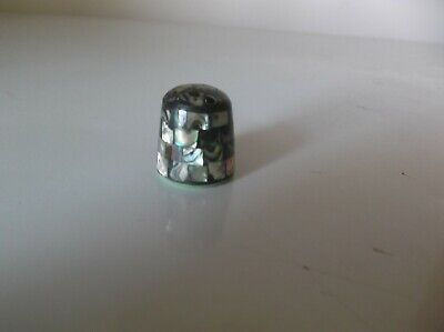 Abalonie Shell Thimble
