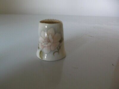Thimble Bone China - Flower - Gold Top