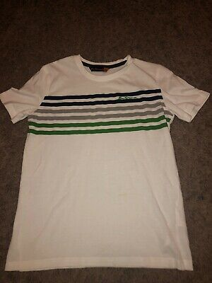 Boys Ben Sherman T-shirt Age 12-13 Years. Excellent Condition.
