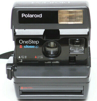 Vintage Polaroid One Step Close Up 600 Film Instant Camera Fully Operational