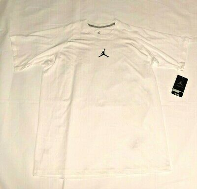 Nike Air Jordan Dri-FIT Training Shirt Mens L White 465072-100