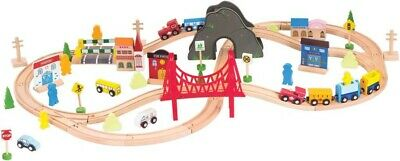 NEW Wooden Train Set from Mr Toys