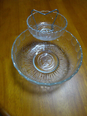 Interlude Glass Chip & Dip Set