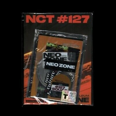 US SHIPPING NCT 127-[NCT #127 Neo Zone] 2nd Album T Ver CD+Poster/On+Book+Card
