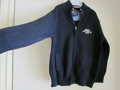 BOYS GANT KNITTED ZIP JACKET - SIZE 5-6Y - Very Cute - As New