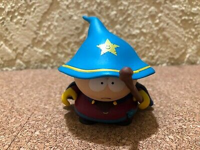 """South Park Stick Of Truth Collector's Cartman Grand Wizard 3"""" Figure 2013"""
