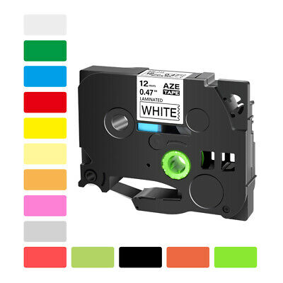 6-36mm Tape Compatible with Brother P-Touch Label Maker TZe231 TZe241 TZ251