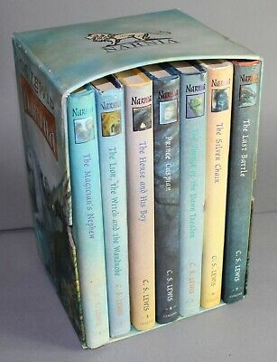 The Chronicles Of Narnia 7 Hardback Book Box Set (Ted Smart Issue)