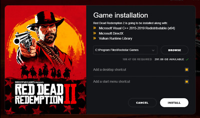 Red Dead Redemption 2 PC STEAM  + more games !! in 1